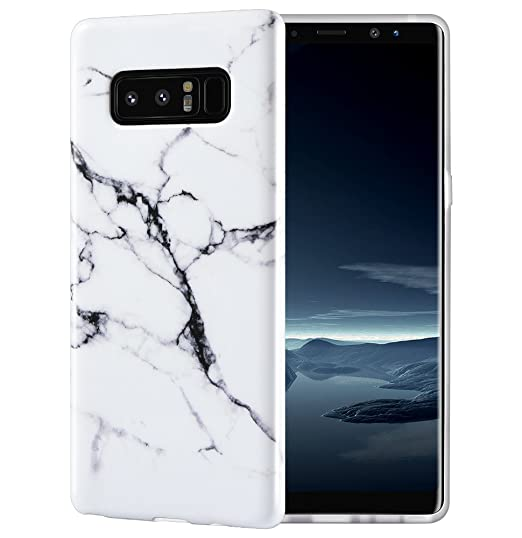 best website 04fe4 b8331 Caka Marble Case Compatible for Galaxy Note 8,Marble Case Slim Anti-Scratch  Shock-Proof Luxury Fashion Silicone Protective Case for Samsung Galaxy ...