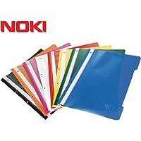 Noki Eco Plastik Telli Dosya Mavi 50 Li Paket (48288-130)