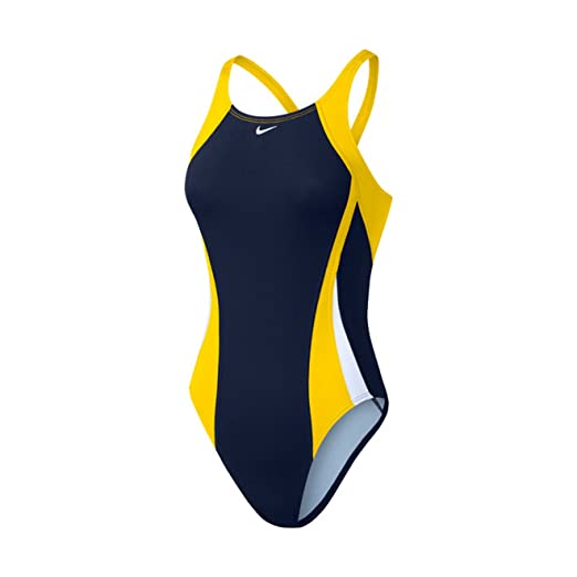 bca436f2614d Amazon.com: Nike Women's Poly Color Surge Fastback Tank Swimsuit: Sports &  Outdoors