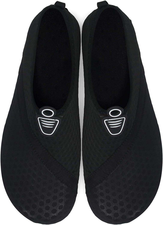 OUSIMEN Scarpe da Immersione Donna Uomo da Scoglio Scarpe da Spiaggia Scarpe da Acqua Scarpe da Mare Scarpette da Bagno Barefoot per Nuoto Snorkeling Yoga Surf Antiscivolo Rapida