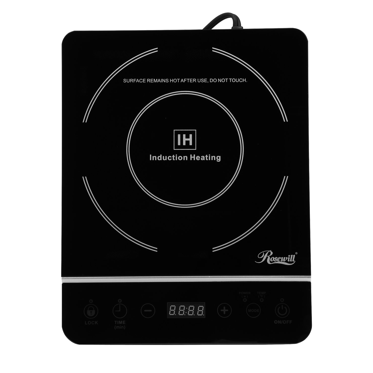 Rosewill 1800-Watt Induction Cooker with Stainless steel pot RHAI-13001