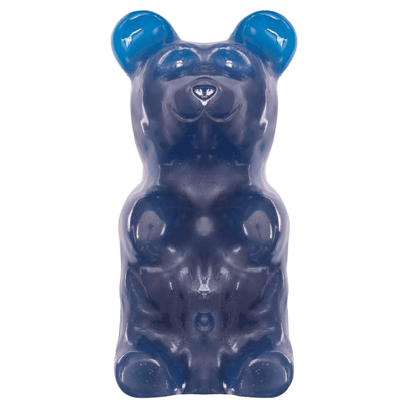 World's Largest Gummy Bear, Approx 5-pounds Giant Gummy Bear - Blue Raspberry