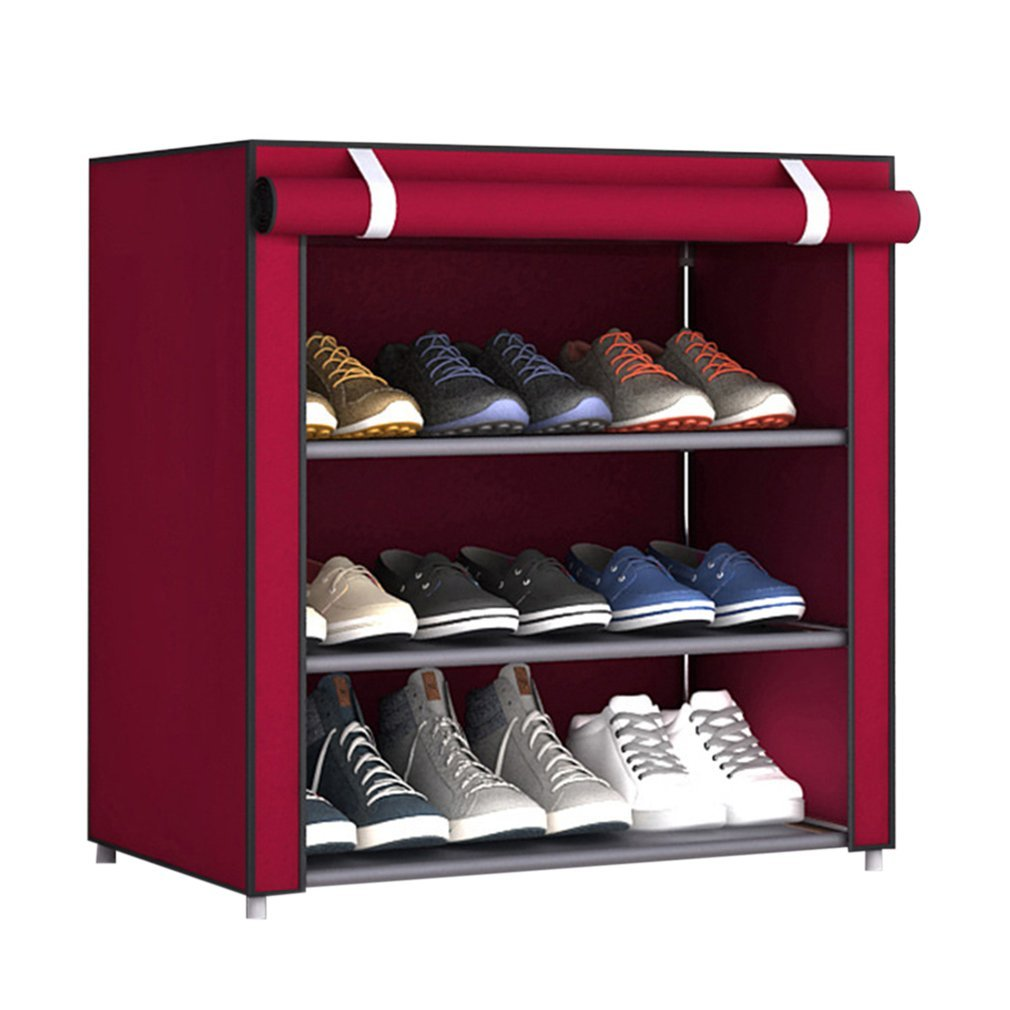 Non-Woven Fabric Shoes Rack Shoes Organizer Bedroom Dormitory Shoe Racks Aszune