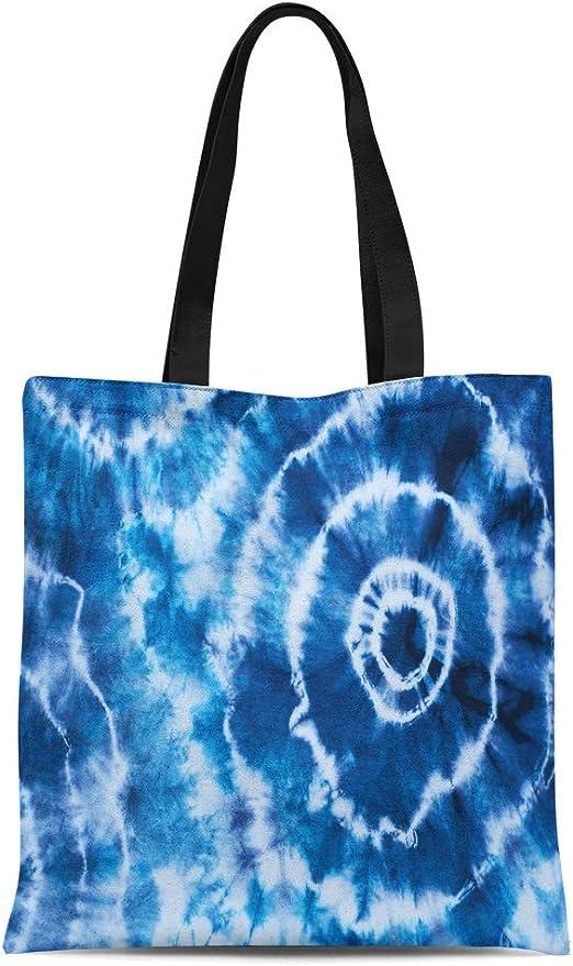 Fashion Women Shoulder Bag Tie Dye Shibori Tote Handbag Purse Messenger Canvas