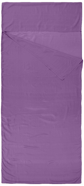 Nod-Pod Saco de dormir de seda 100% de seda natural - Sábanas para sacos de dormir - Lila: Amazon.es: Deportes y aire libre