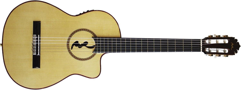 Guitarras Manuel Rodríguez 5 326 - Guitarra Flamenca Cutaway FF ...