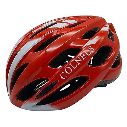 OLIS,Casco Bicicleta Casco Bici De Montaña con Luz LED Unisex ...