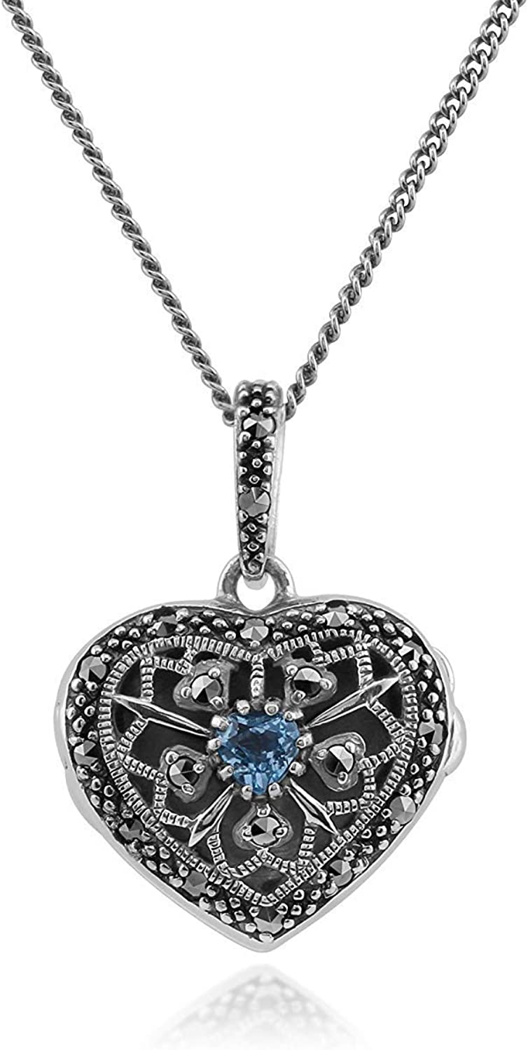 23mm x 19mm Solid 925 Sterling Silver Cubic Zirconia CZ Love Heart Pendant