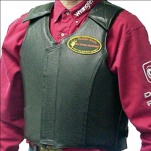 EXTRA LARGE SADDLE BARN EQUIPMENT ROUGH STOCK PRO RODEO PROTECTIVE VEST GEAR by SADDLE BARN