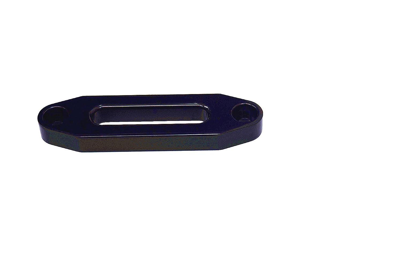Black 4000lbs Synathetic Rope Fairlead Hawse Fairlead for Steel Cable Aluminum Fairlead