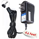 T-Power (6.6 Ft Long Cord) Ac Dc Adapter for Foscam Wireless Wired Ip Video Surveillance Security Camera Fits FI9821W FI8910W FI8916W (Saw-0502000) Fi8918w Fi8908w Fi8905w Fi8904w Fi8903w Fi8909w FI8910W FI9821W V2 Megapixel HD FI9821P Replacement Switching Power Supply Cord Charger Wall Plug Spare
