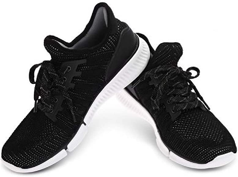 Xiaomi MIJIA - Zapatillas Running Sin Chip Inteligente (Negro, 42): Amazon.es: Zapatos y complementos