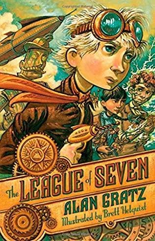 book cover of The League of Seven