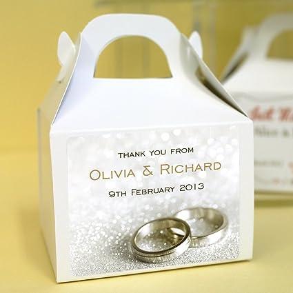 Paquete de cajas para cupcakes, personalizado.