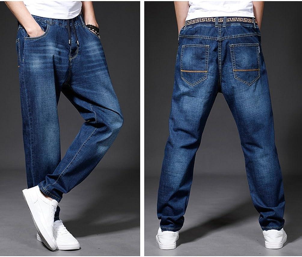 Xinwcang Vaqueros Slim Para Hombre Moderno Y Casual Stretch Jeans Skinny Tramo Denim Pantalones Vaqueros Ropa