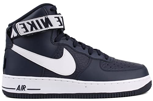 "the latest 0aa7a d0da5 Nike Air Force One AF-1 High 07 NBA Edition ""College Navy"""