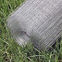 WilTec Malla Alambre metálica gallinero Cierre metálico galvanizado Rollo 1mx25m mallado 16x16mm Jardín: Amazon.es: Productos para mascotas