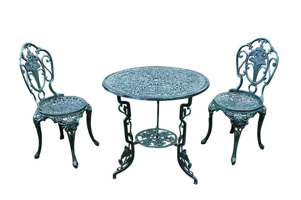 【ジャービス商事】鋳物テーブル3点セット(大)SH B00F2BAW28