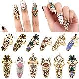 Best Ring For Women - 12pcs Women Fashion Bowknot Nail Ring Charm Crown Review