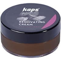 Renovating repair shoe cream for smooth leather, scratch and scuff cover, Kaps Renovating Cream, 10 colors