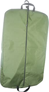 product image for BAGS USA 36 Inch Garment Bag 600 Denier Polyester,Two Pockets,Carry on Bag Made in U.s.a. (Olive)