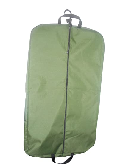 7c8eb8699500 BAGS USA 36 Inch Garment Bag 600 Denier Polyester,two Pockets,carry on Bag  Made in Usa (Olive)