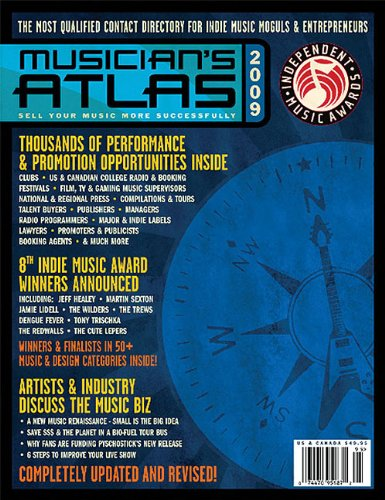 2009 Musician's Atlas (Musician's Atlas: The Ultimate Resource For Working Musicians)