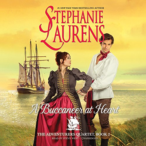 A Buccaneer at Heart: The Adventurers Quartet, Book 2