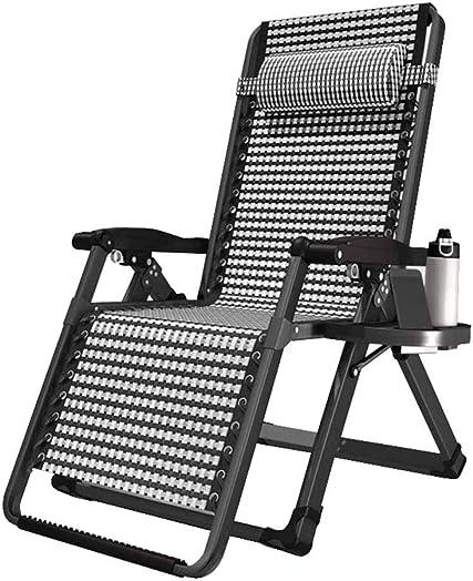 Folding Recliner Chair Relaxing Chair Zero Gravity Deck Chairs Sunloungers Household Lunch Break Garden Textilene