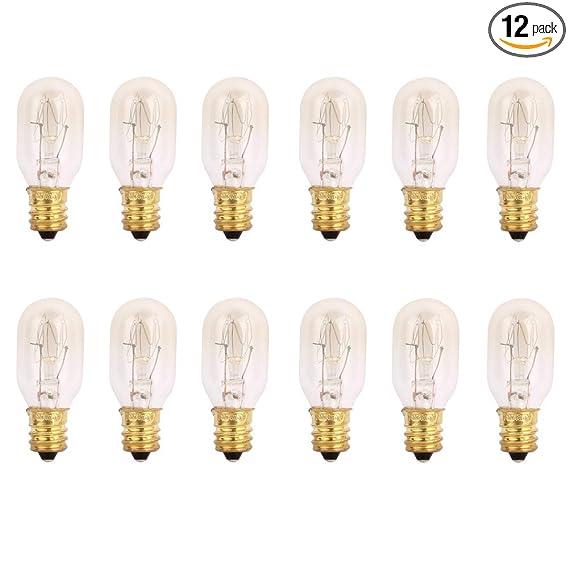 Tgs Gems 25 Watt Himalayan Salt Lamp Light Bulbs Incandescent Bulbs