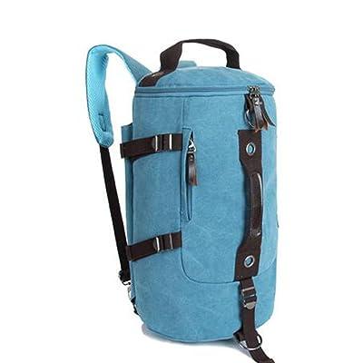 Joyloading Canvas Outdoors Backpack Travel Rucksack Hiking Pack