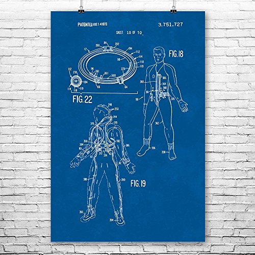 Apollo Astronaut Space Suit Life Support System Poster Art P