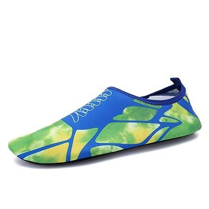 JSHOE Zapatos Descalzos Swim Yoga Beach Running Snorkeling Calcetines De Buceo Zapatos De Agua Para Hombres