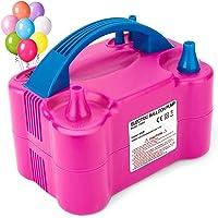 Epzia Electric Balloon Pump, Dual-Nozzle Portable Balloons Air Pump for Balloon Arch, Balloon Garland, Party Decorations…