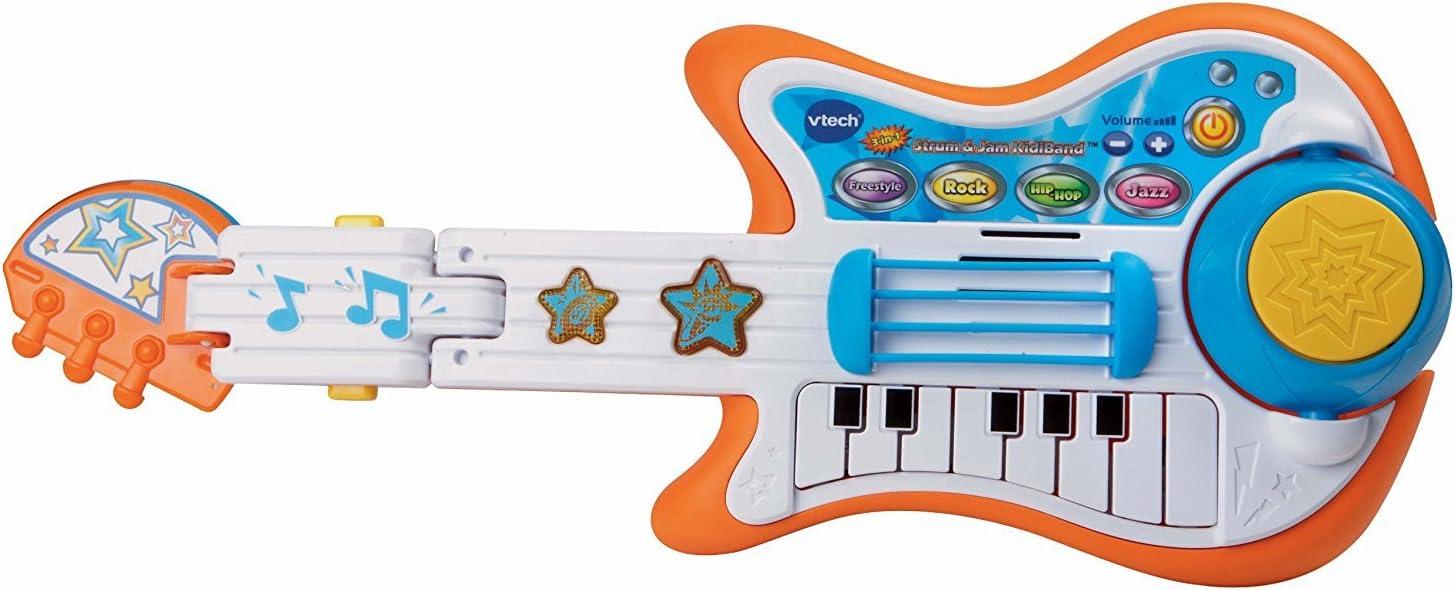 patr/ón de Dibujos Animados Educaci/ón temprana para ni/ños Que aprenden m/úsica Juguete Musical Hoseten Guitar Band Baby Guitar