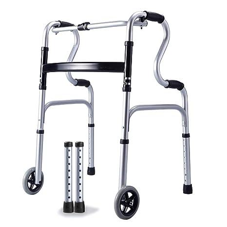 MYYLY Silla de Ruedas Wheelchair Sillas de Ruedas Anciano ...