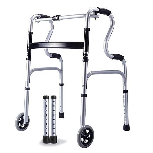 Sillas de ruedas Anciano Grueso Aleación De Aluminio Para ...