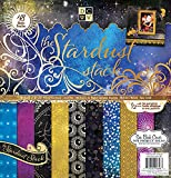 Die Cuts With A View Stardust Paper Stack, 12 by 12-inches