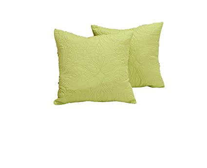 Amazon Com All For You 2pc Square Decorative Quilted Throw Pillow