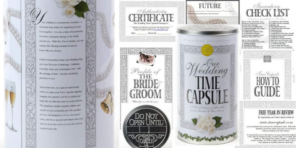 Amazon Milestone Collection Wedding Time Capsule Personalized
