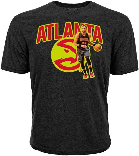 NBA Atlanta Hawks子供ユニセックスTheマーシャルYouth Tee、YM、ブラック