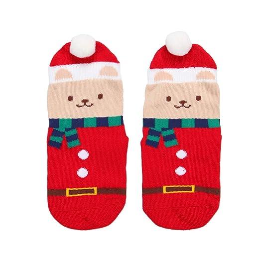 Calcetines antideslizantes Calcetines de Navidad para niños ...