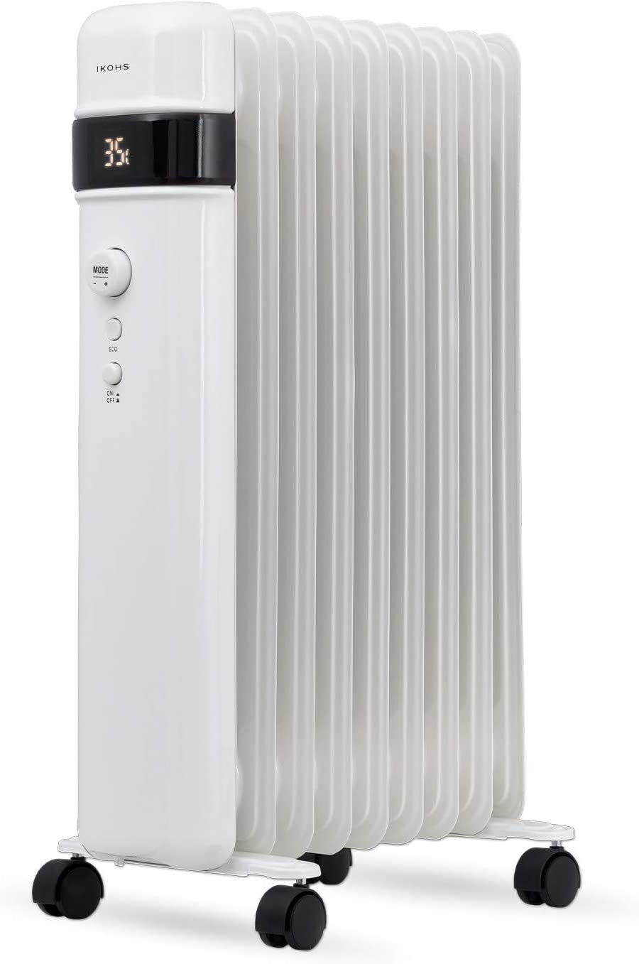 IKOHS ORH2000 - Radiador de Aceite (Blanco)