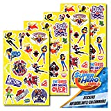 DC Super Hero Girls - 4 Sheets of Stickers