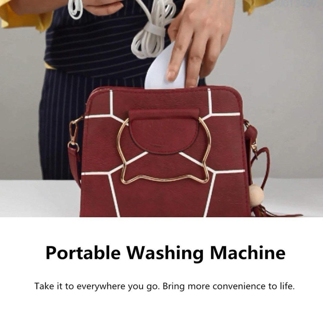 IKevan_Washers Smart Portable USB Ultrasonic Mini Washing Device Machine Fruit Cleaning Hot By (white) by IKevan_Washers (Image #6)