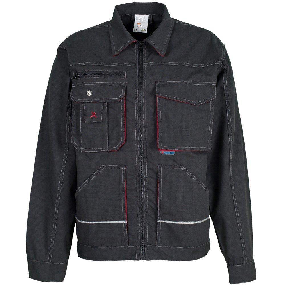 Basalt Arbeitskleidung Bundjacke kornblau/rot Planam 2810
