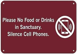 Notice Warning Sign Decor 8