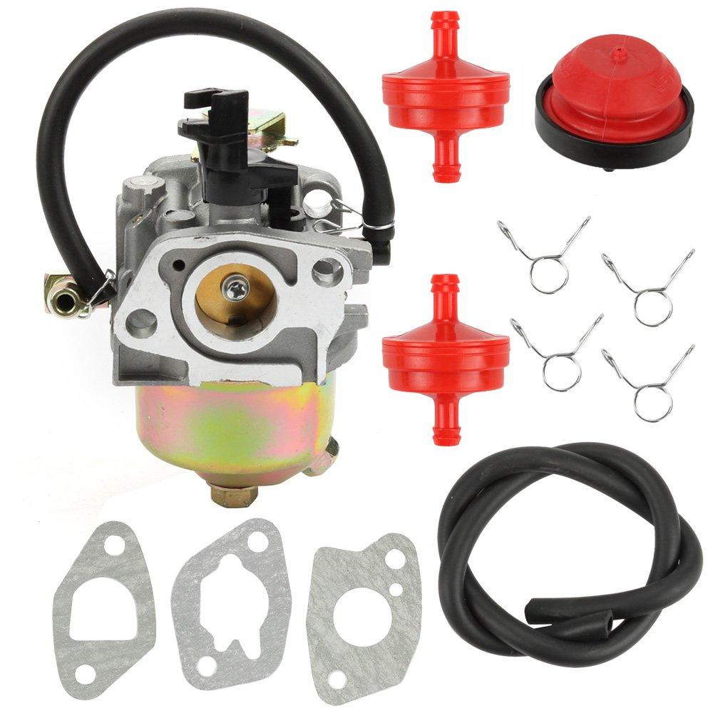 Amazon.com: Butom 951-10974 Carburetor with Primer Bulb Fuel Filter Gaskets  for MTD CUB CADET TROY BILT 951-10974 951-10974A 951-12705 Snowblower:  Garden & ...