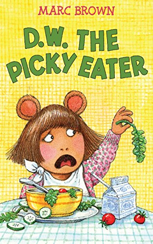 D.W. the Picky Eater - List Fancy Foods