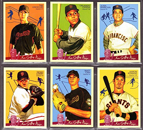 San Francisco Giants 2008 Upper Deck Goudey Baseball, used for sale  Delivered anywhere in USA
